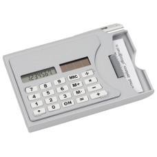 Визитница «Бухгалтер» с калькулятором и ручкой