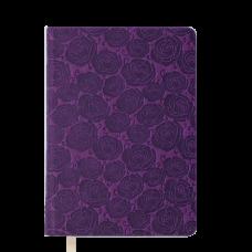 /Ежедневник недатированный FLEUR, A5, 288 стр., черный