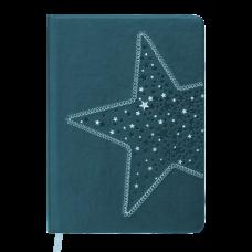 /Ежедневник недатированный STELLA, A5, 288 стр., черный