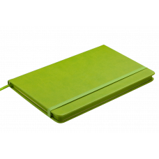 Блокнот деловой PROFY LOGO2U 125x195мм, 80л., клетка, обложка искусственная кожа, черный