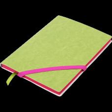 Блокнот деловой LOLLIPOP А5, 96л., линия, обложка искусственная кожа, розовый