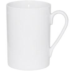 Чашка керамическая белая 400 мл