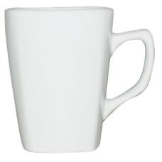 Чашка белая 220 мл, фарфор