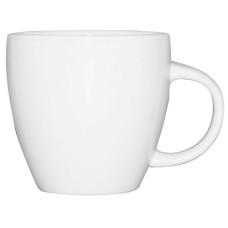 Чашка белая 440 мл, фарфор