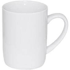 Чашка белая 380 мл, фарфор