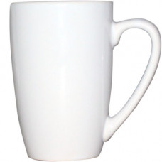 Чашка белая 320 мл, фарфор