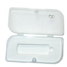 Упаковка-футляр для флешки из пластика