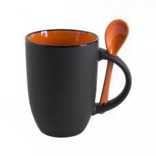 Чашка BERTINA с ложечкой 380 мл