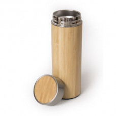 Термос LIGNUM 500 мл металл, бамбук