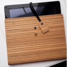 Деревянный чехол для планшета