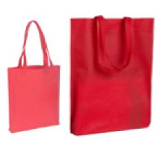 Сумка тканная для покупок, цвет красный