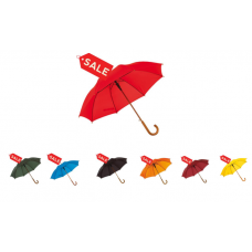 Зонт трость автомат Tango красный