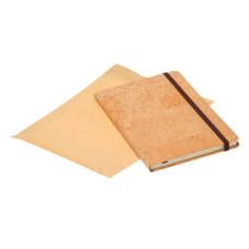 Записная книжка на резинке с чистыми листами